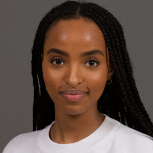 Chaltu Tesfaye, Undergraduate Science Co-op student in the Lindsey Lab at the University of Manitoba, Department of Human Anatomy and Cell Science, Canada. Project focus: zebrafish brain development