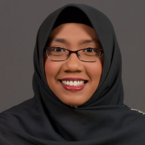 Suhaila Selamat, Research Technician in the Lindsey Lab at the University of Manitoba, Department of Human Anatomy and Cell Science, Canada