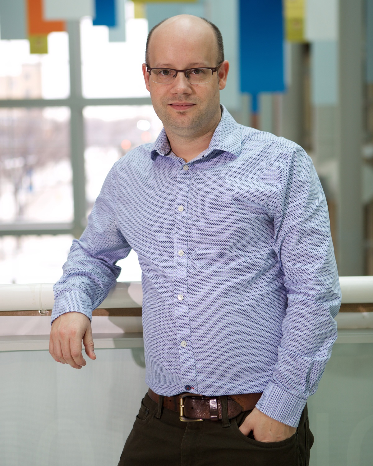 Dr. Benjamin Lindsey, Principal Investigator and Assistant Professor at the University of Manitoba, Department of Human Anatomy and Cell Science, Canada